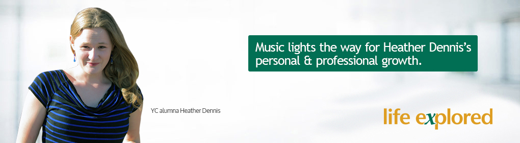 Heather Dennis - Music lights her way