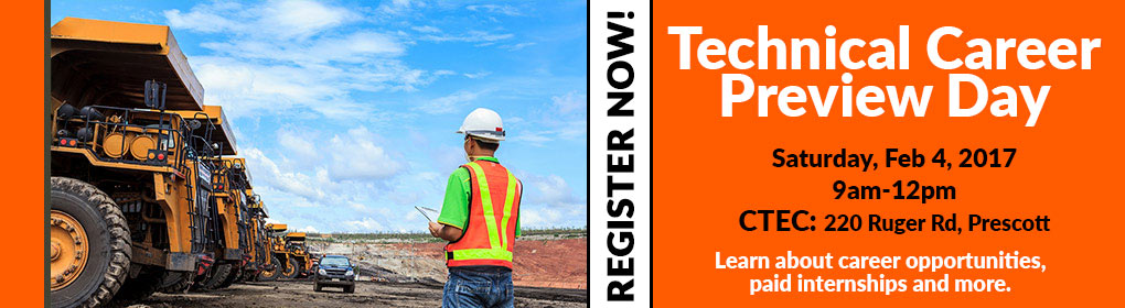 Mining Preview Day: Saturday, Feb. 4 - Technical Career Opportunities