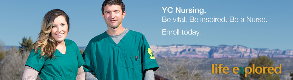YC Nursing - Be vital. Be inspired. Be a NURSE. Enroll today.