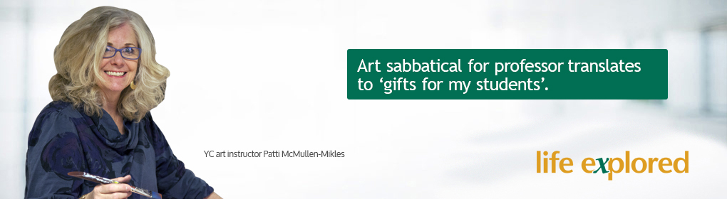 Patty Mikles - Art sabbatical