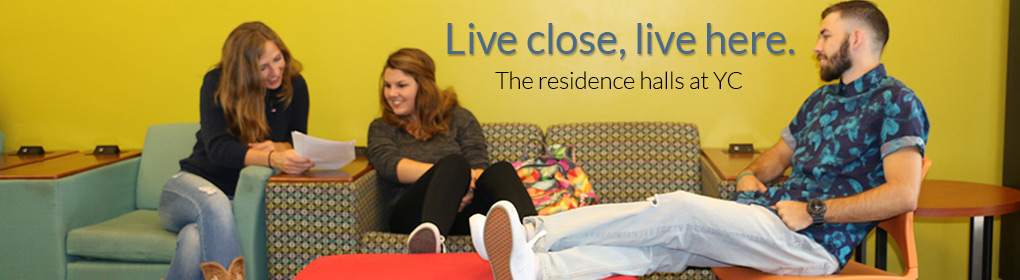 Res Hall Life - Live here, live close