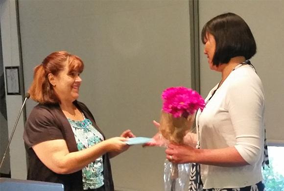 YC Communication Professor Honored